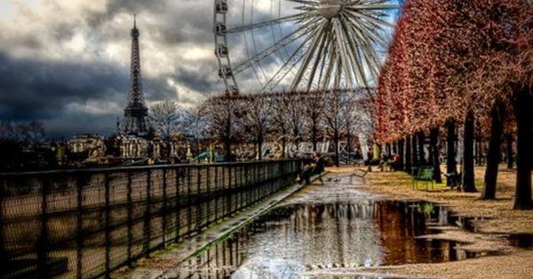 Ferris Wheel at the Tuileries in Paris, France. By Kay Gaensler beautiful