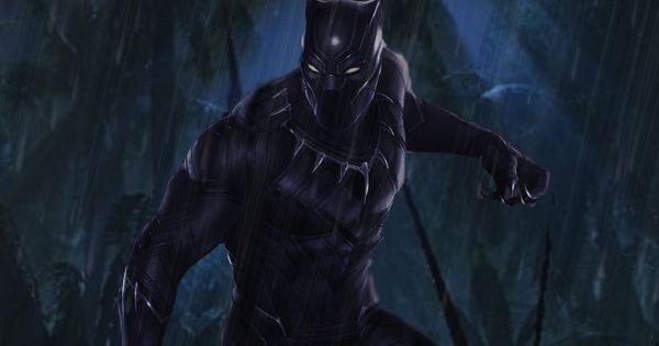 Black Panther By Portela On Deviantart: Black Panther Movie Poster By DComp On DeviantART