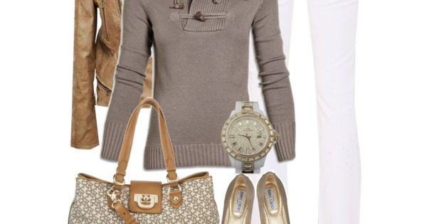 Cute outfit with Jimmy Choo Ballet Flats :)