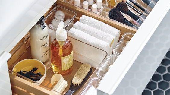 70 id es originales piquer pour relooker votre salle de for Organisation salle de bain