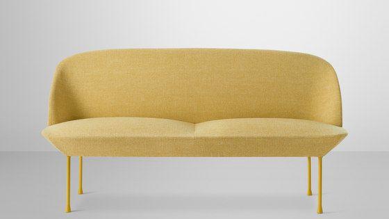 Oslo 2 Seater By Muuto Lounge Sofas Miel