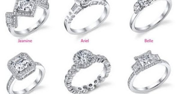 Disney Princess Diamond Engagement Rings