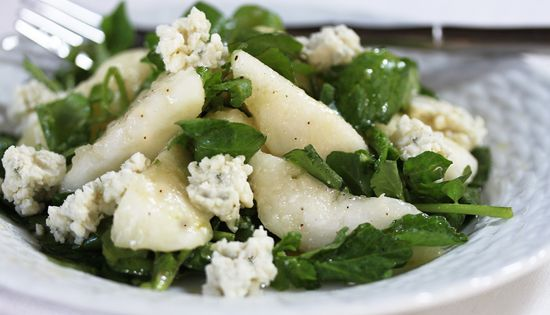 Blue cheese, Pears and Salads on Pinterest