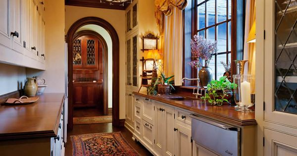 Butlers Pantry Spanish Style For The Home Pinterest