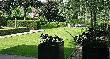 Tuinarchitect tuinontwerp moderne strakke eigentijdse grote - Eigentijdse tuinarchitectuur ...