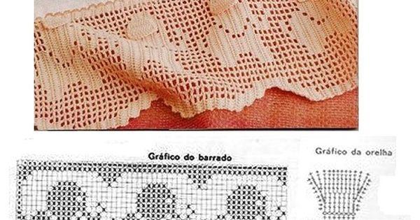 Free Filet Crochet Elephant Pattern : Elephant filet edging Filet crochet Pinterest Elephants