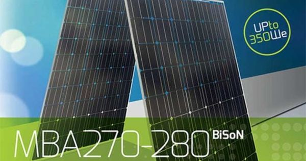New Bifacial Solar Module Takes Advantage Of Direct And Reflected Sunlight Solar Module Solar Panels Photovoltaic Module