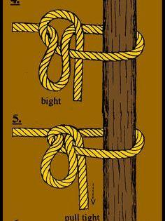 Noeud Pour Attacher Hamac A Un Arbre Faire Un Noeud Nœuds De