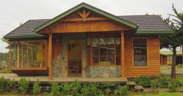 Fachadas de locales con madera y piedras buscar con google cafe pinterest locales - Busco casa prefabricada ...
