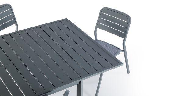 Chaise et table de jardin collection hyba alu 152 labo design pinterest tables - Chaise de jardin nice ...