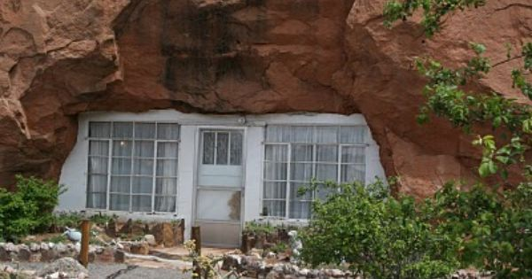 5000 sq ft home built into a mountain in az wow cool House built into mountain
