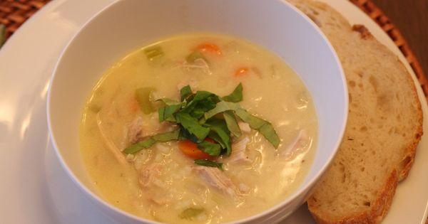 Avgolemono Soup | A tale of two wheats | Pinterest | Soups