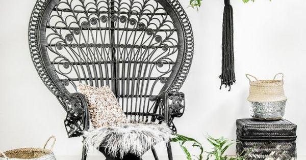 Fauteuil Emmanuelle En Rotin Elephant In The Room Deco Pinterest Entr E Rotin Et