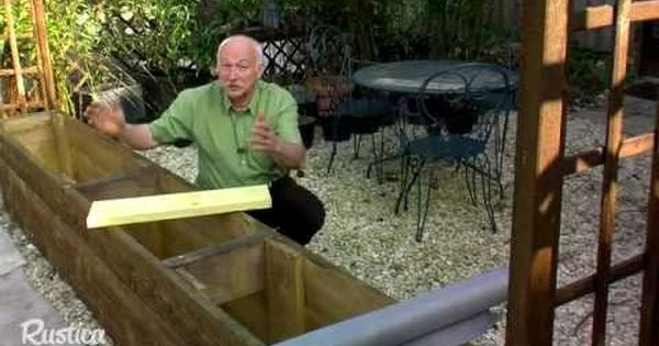 Planter des bambous dans un grand bac youtube deco jardin pinterest planters comment - Youtube deco jardin paris ...