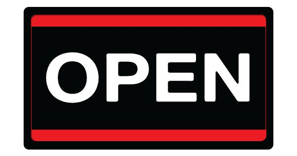 Printable Open Sign In Black Red White Free Download Pdf Now Open Signs Signs For Sale Sign