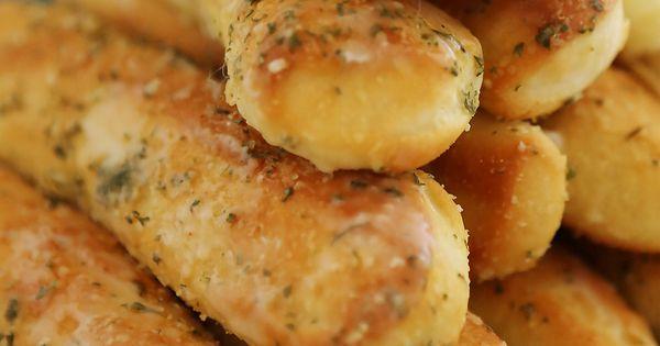 Fluffy garlic butter breadsticks super soft buttery - Calories in olive garden breadstick ...