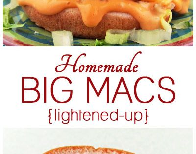 Check out Homemade Healthier Big Macs. It's so easy to make!