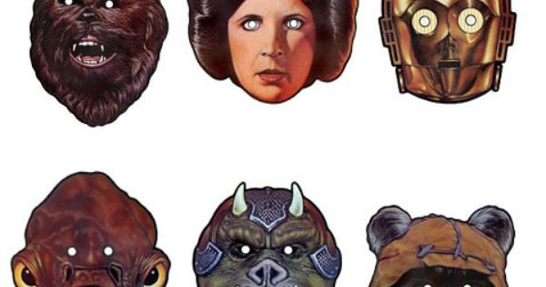 making your own star wars mask Star Wars Halloween Masks October 24,