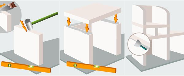 construire un barbecue en b ton cellulaire barbecue bricolage pinterest barbecue. Black Bedroom Furniture Sets. Home Design Ideas