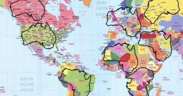 Australia Overlaid On The U S North America Map Australia Map America Map