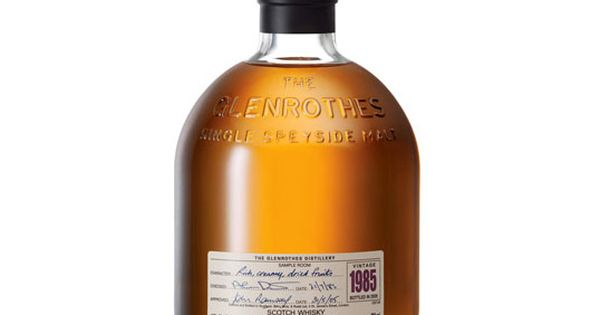 Glenrothes whisky by holmes marchant interesting for Interesting bottle shapes