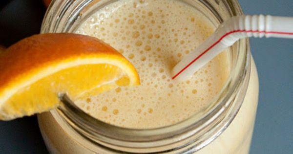 The Perfect Homemade Orange Julius Smoothie