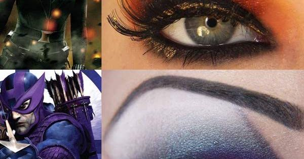 Pretty amazing Captain America Super Hero Inspired makeup