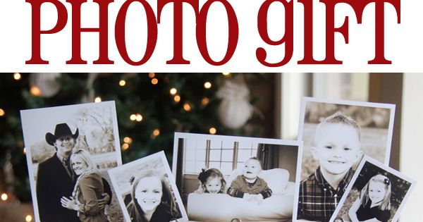 Great Photo Block Gift Idea for Christmas from Shanty-2-Chic.com // Great Christmas