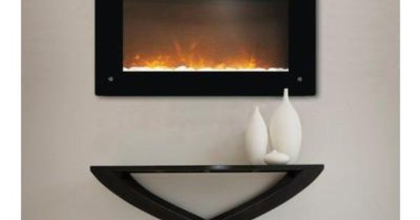 Paramount tokyo wall mount electric fireplace ef wm for Foyer mural electrique costco