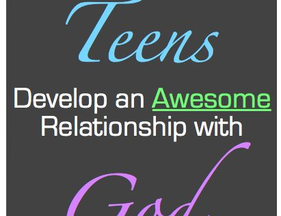 relationship with god youth group