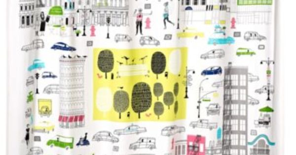 Kate Spade New York About Town Shower Curtain Bedbathandbeyond Com