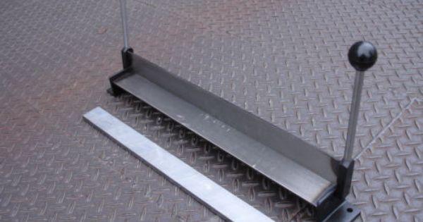 Sheet Metal Brake Compact Simple 450mm X 1 5mm Steel Sheet Metal Folder Bender Bending Brake Ebay 65 Steel Sheet Metal Metal Bending Sheet Metal