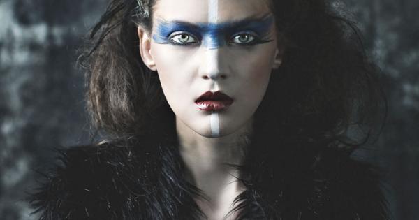 Benjo Arwas - Pehaps my next halloween makeup. wild makeup