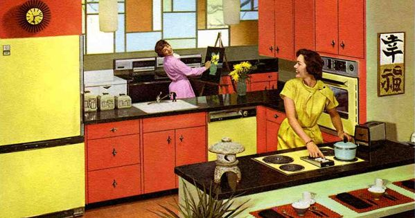 Coral Kitchen Design Studios And Yellow Kitchen Designs On Pinterest