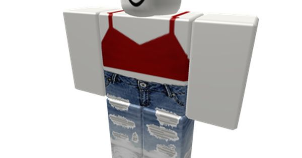 Roblox Outfits Girl Free Girls Clothes Girl Outfits Blue Ripped Jeans Hoodie Roblox