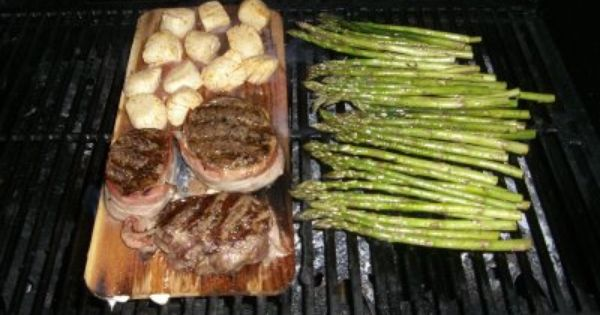 Belly of the Beast - my adventures in cooking: Cedar Planked Filet ...