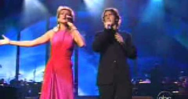 Celine Dion Josh Groban The Prayer Live Lyrics Praise Music Christmas Music Videos Celine Dion