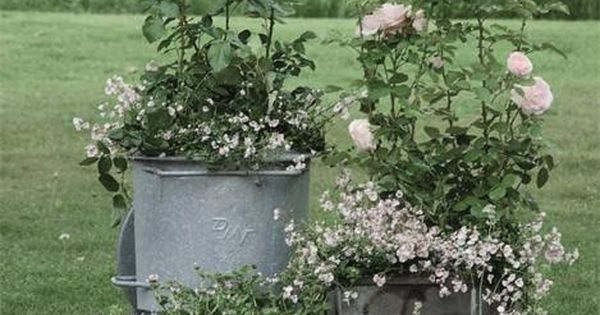The Cottage Market: Repurposed Garden Containers Tons of Great ideas for your