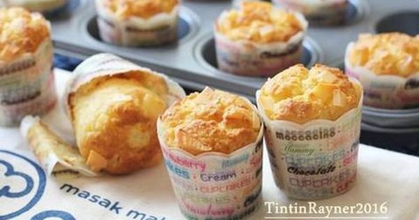 Resep Cheese Custard Muffin The Best Cheese Muffin Ever Oleh Tintin Rayner Resep Resep Custard Muffin
