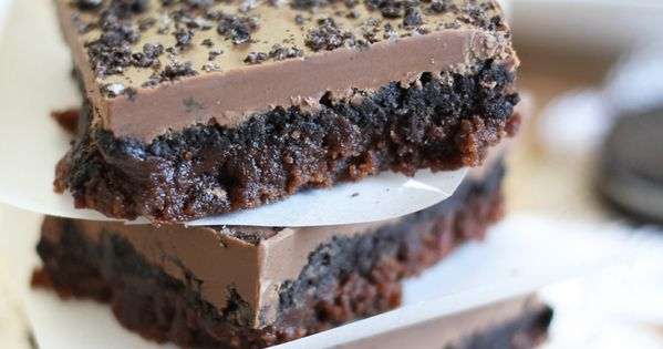 sweet tooth: Oreo Truffle Brownies!
