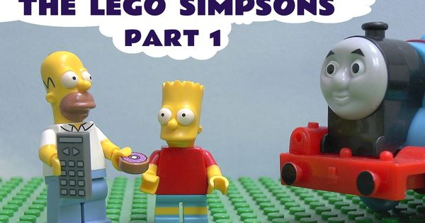 Lego The Simpsons Blind Bag Play Doh Thomas And Friends Minifigures Bart A Lego Minifigure Has Taken Thomas He Thomas And Friends Lego Simpsons Blind Bags