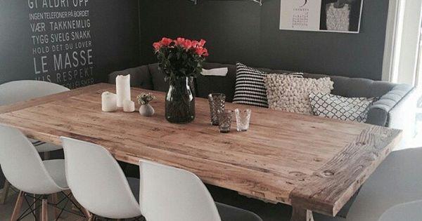 Cheerup On Instagram What About This Stunning Diningroom Credit Jillkri74 Diningroom Decor Interior Design Interio Wohn Esszimmer Wohnen Kuchen Sofa