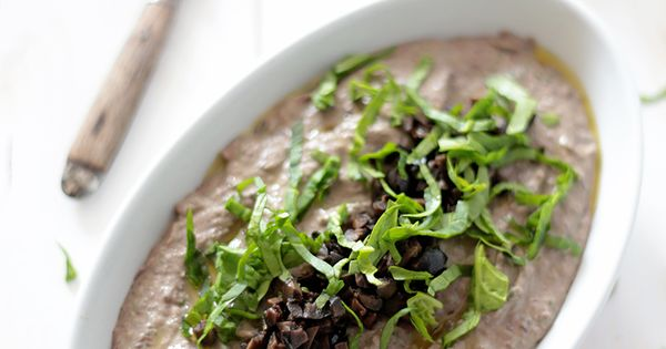 Black bean hummus, Black beans and Spinach on Pinterest