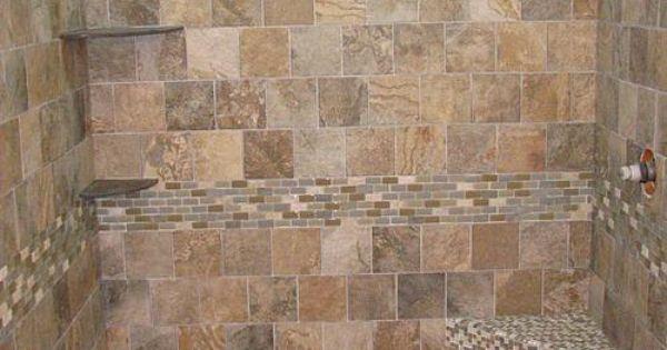 Krystal Slate Storm Remodel Basement Bathroom