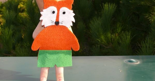 Marionetta con volpe Mr Fox