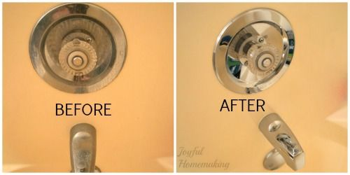 How To Clean Chrome Bathroom Fixtures With Images Chrome