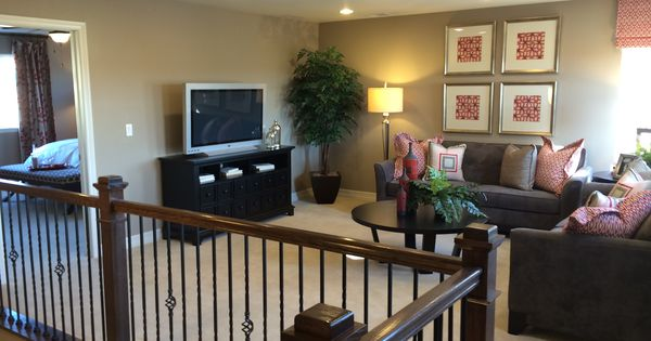 By Richmond American Homes Seth Model Family Room Area New House Ideas Pinterest Room