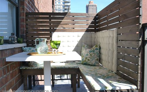 Backyard privacy ideas for renters