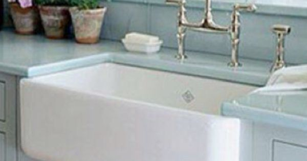 Farmhouse Sink Porcelain Kitchen Pinterest