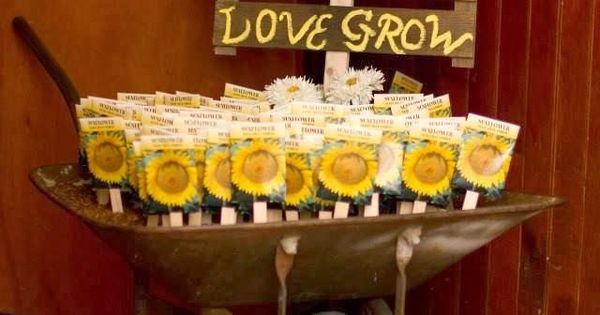 sunflower wedding flower ideas  in season now